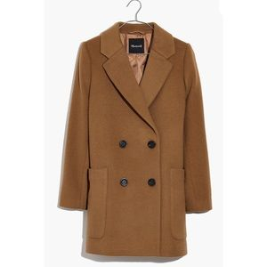 Madewell Hollis Double-Breasted Coat